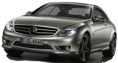 Présentation de la <b>Mercedes-Benz CL 65 AMG</b> de 2008.