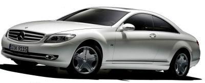 Présentation du coupé<b>Mercedes-Benz CL</b> de 2007.